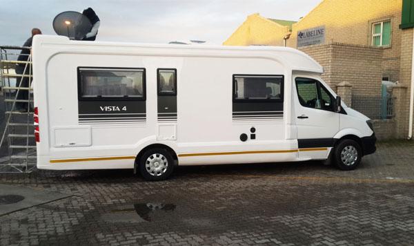 Vista Motorhomes - Vista Mercedes 4 & 6